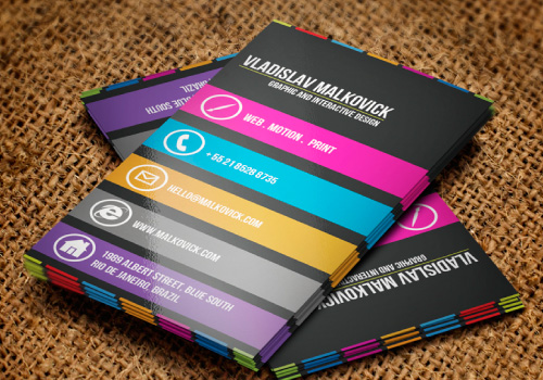 Inspirational Business Cards v3 | Graphic Design Blog