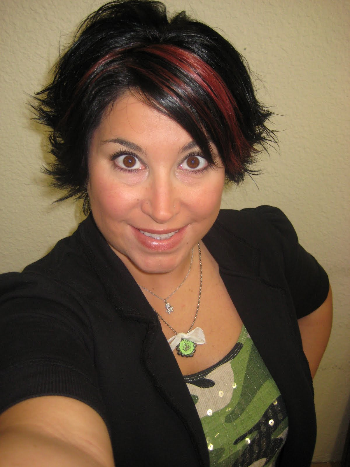 Quality Highlights In Short Dark Brown Hair Smart Ideas The