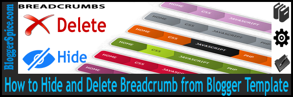 remove Breadcrumb