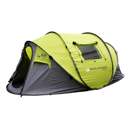 Family Tent Camping : New Malamoo MEGA Pop Up Tent