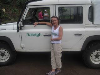 Karen ready to drive