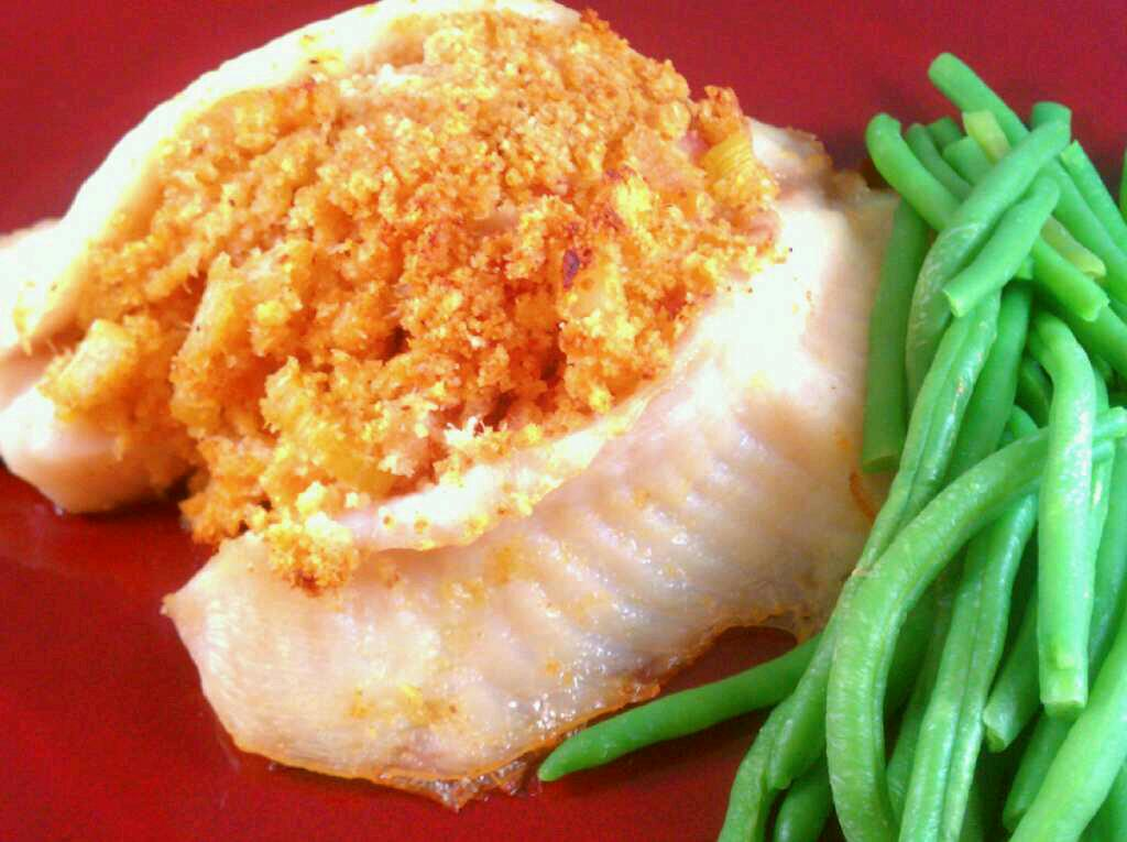 Eat Fit Live Well Crab Stuffed Tilapia