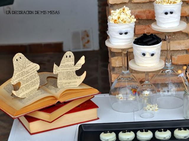 Mesa de halloween 2013 - Decoracion de librerias ...
