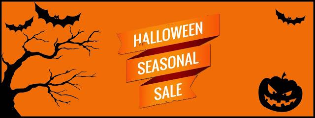 savingrefund halloween seasonal sale banner halloween coupon codes - Halloween Mart Coupon Code