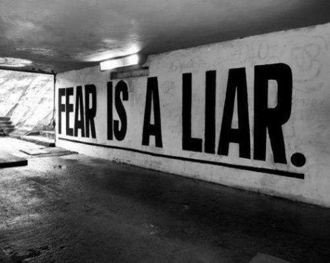 FEAR IS A LIAR  >> STARTS WITH CUPCAKES