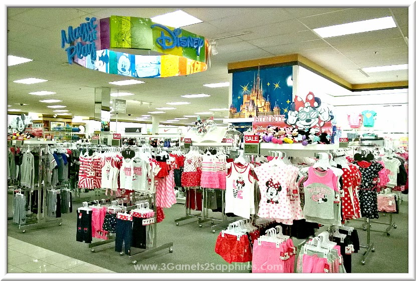 Shopping the new Kohl's Disney Jumping Beans #MagicAtPlay Americana Collection for Boys and Girls