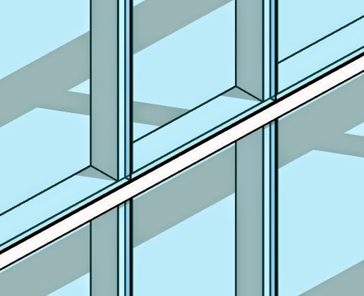 Revit Tutorial Create Quot Butt Glazing Quot In A Curtain Wall