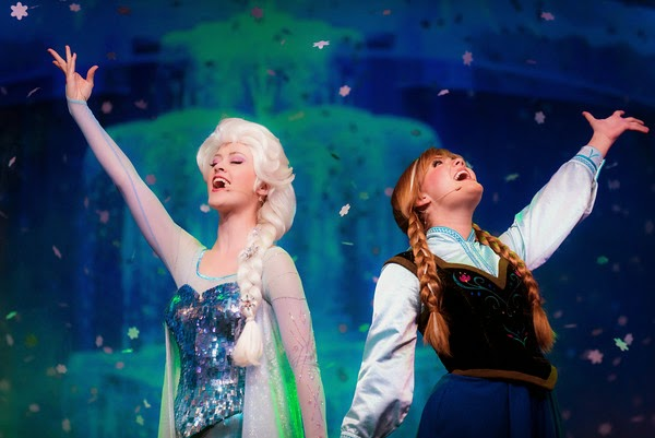 Frozen no Disney's Hollywood Studios