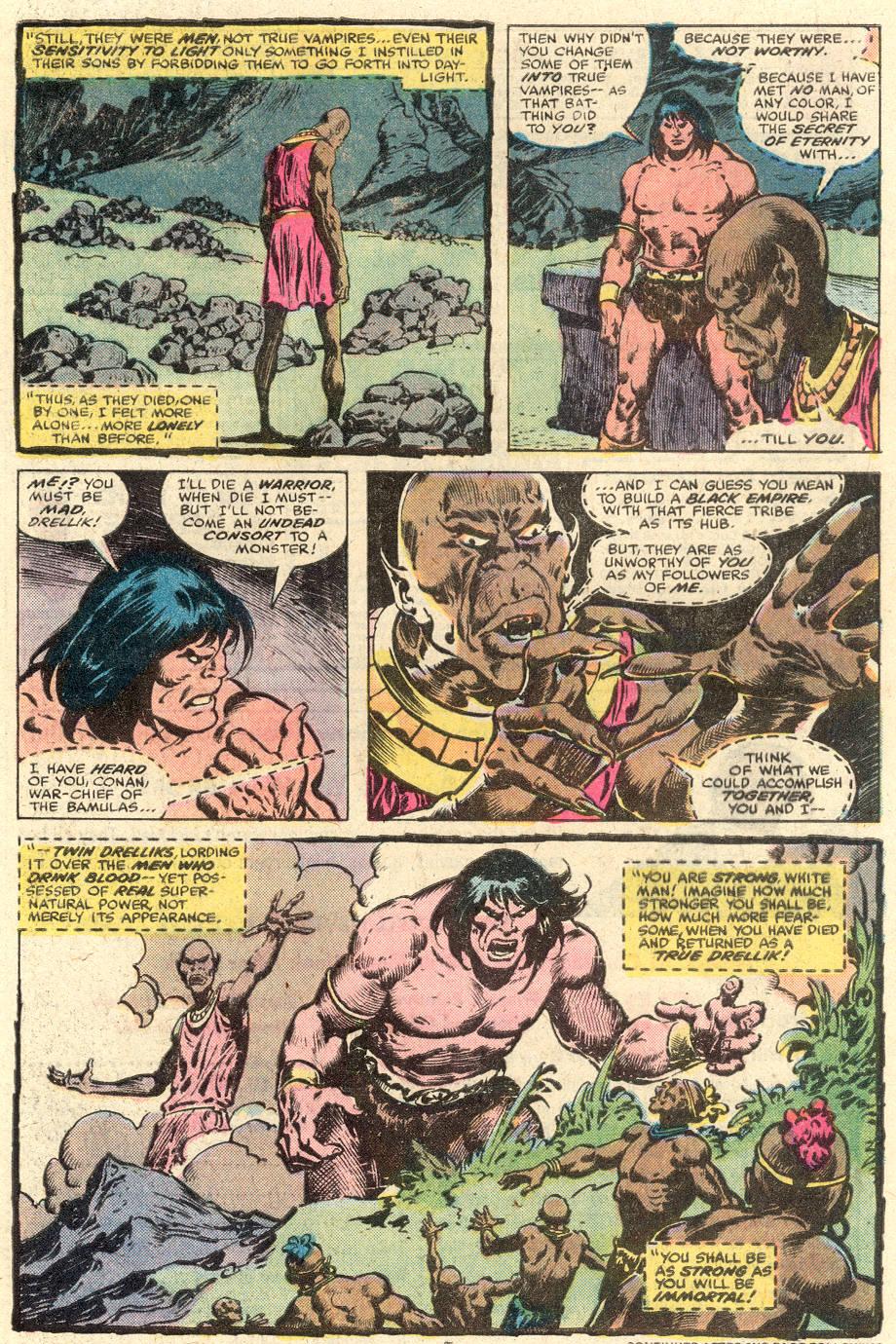 Conan the Barbarian (1970) Issue #103 #115 - English 6