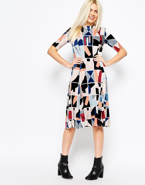 monki multicolour dress,