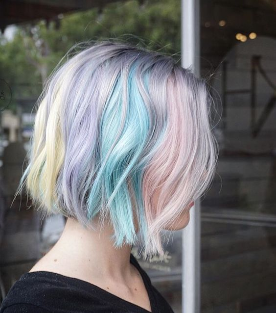 Amazing Pastel Bobs The HairCut Web
