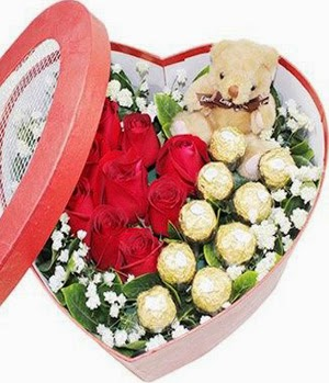Send China Rose Flowers and price