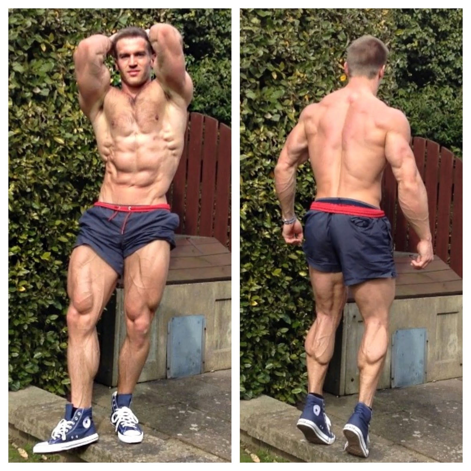 Adam Charlton, Fitness Models,
