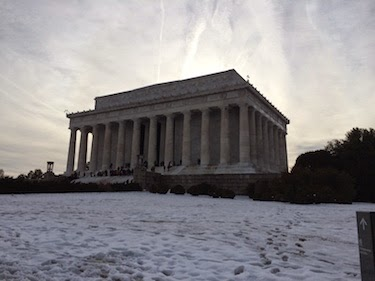 Chuck and Lori's Travel Blog - Lincoln Memorial