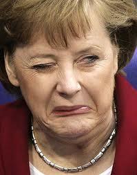 Tampoco estamos tan mal. Merkel+cara+de+asco
