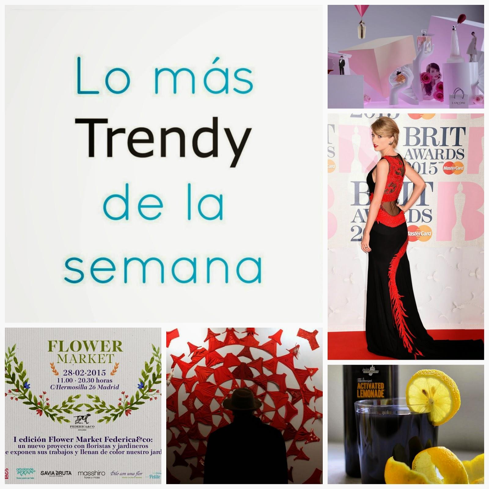 Lo más trendy de la semana Esencia Trendy celebs Arco foody flowers febrero que hacer Madrid