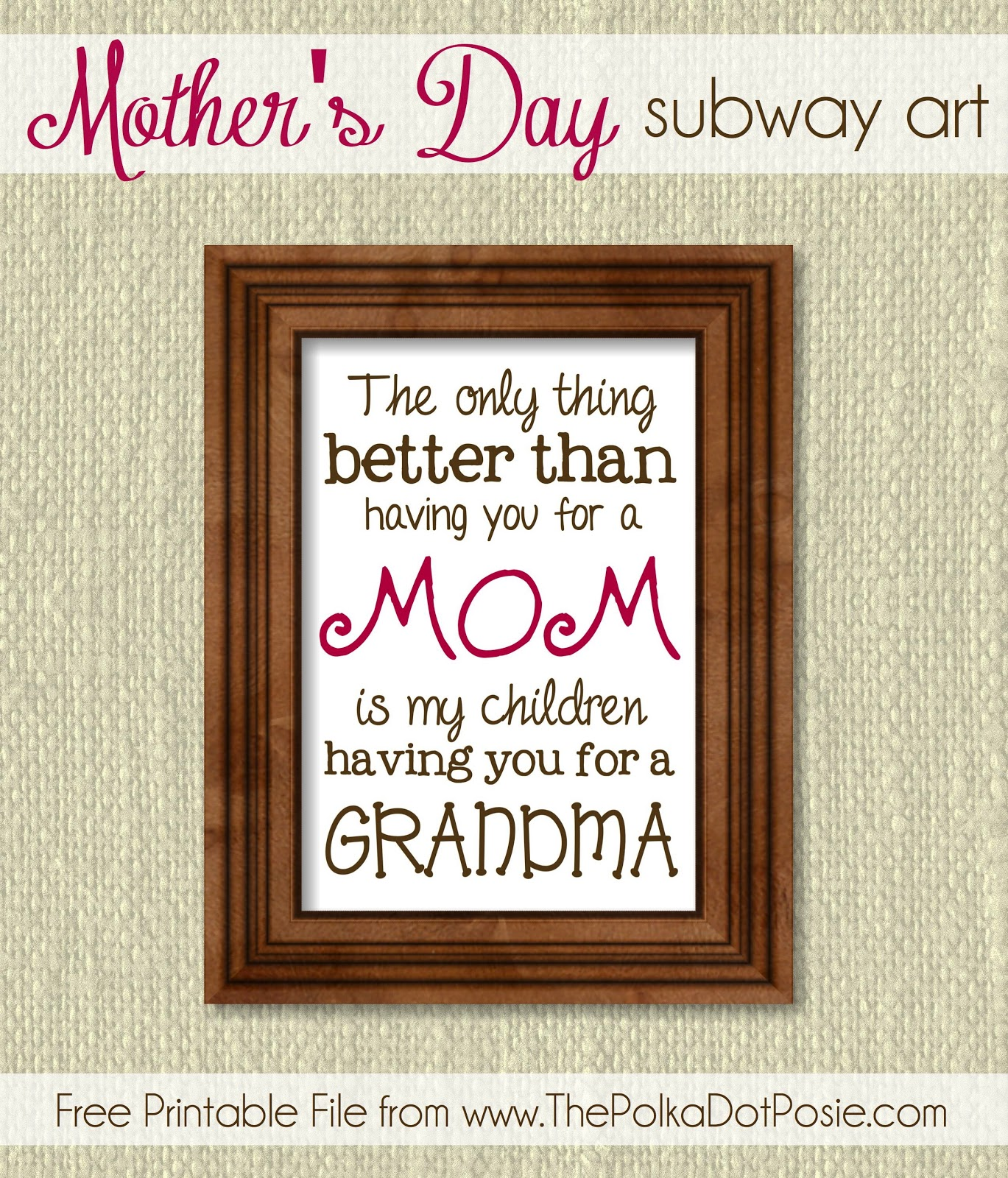 essay on appreciating mothers