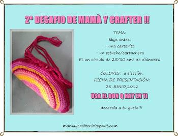 2° desafio de mamá y crafter !1