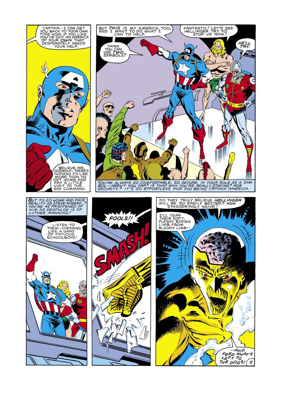 Captain America (1968) Issue #288 #204 - English 9