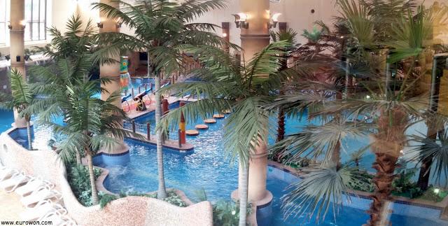 Parque acuático del Lotte Resort de Buyeo