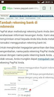withdraw tarik saldo PayPal to bank local