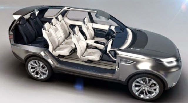2016 Land Rover Discovery Change