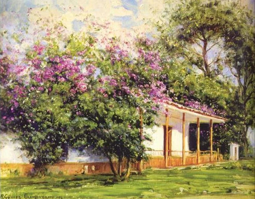 cuadros-pinturas-de-pueblitos-colombianos