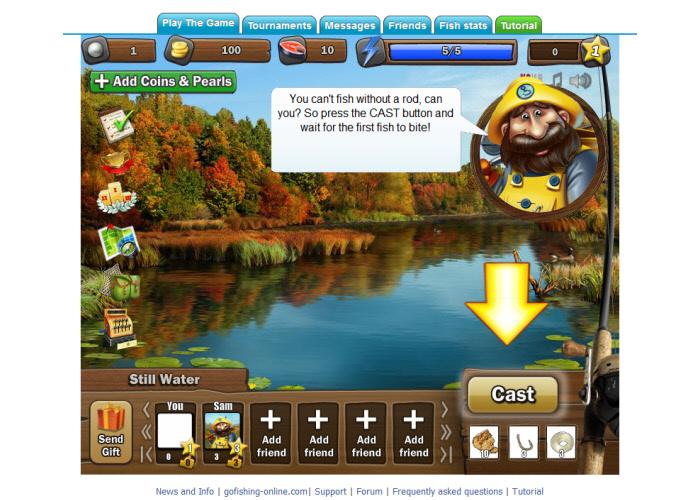 Cris sutanto sitinjak trik bantuan dan tips bermain go for Facebook fish game