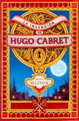 """Portada del libro """"La invención de Hugo Cabret"""""""