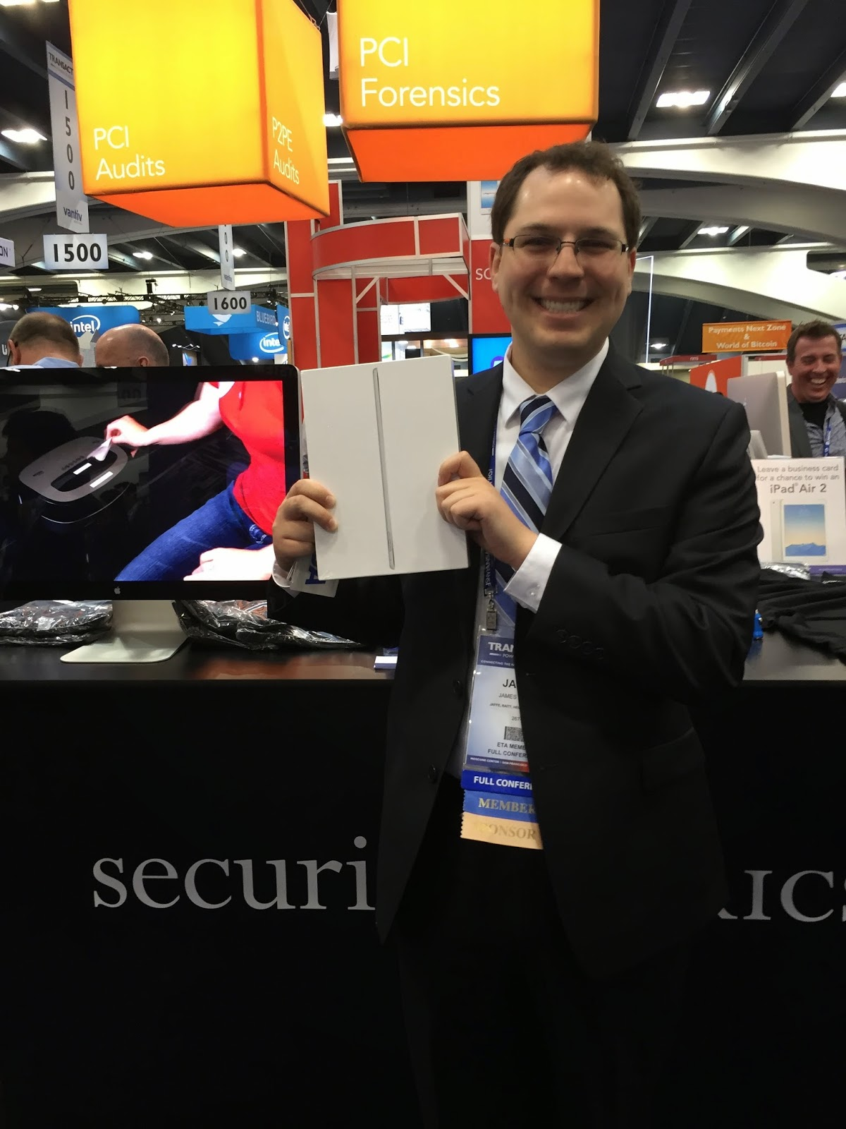 James Kramer Jaffe Law iPad Winner