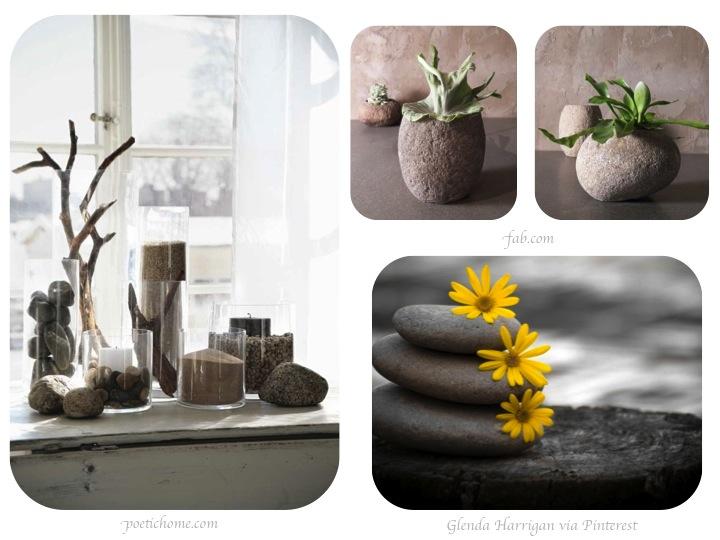 Piedras predise adas for Piedras blancas para decorar