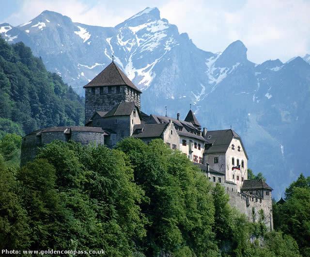 Liechtenstein, principality Switzerland Austria