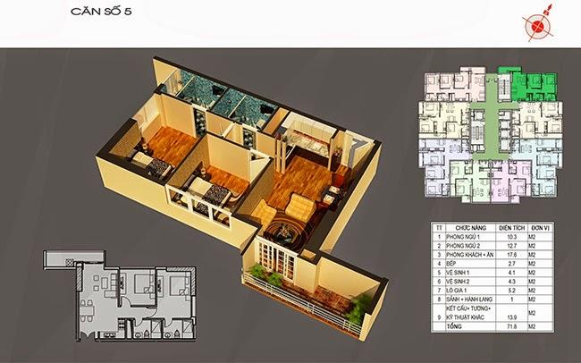 căn hộ 05 chung cư ct number one