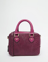 http://www.asos.com/asos/asos-mini-boxy-shoulder-bag/prod/pgeproduct.aspx?iid=5451939&clr=Berry&SearchQuery=purple+bag&pgesize=19&pge=0&totalstyles=19&gridsize=3&gridrow=1&gridcolumn=1