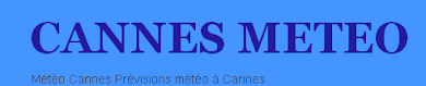 cannes meteo