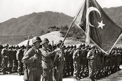 Türk Bayrağı, Kore Savaşı, Çin, Türk Askeri