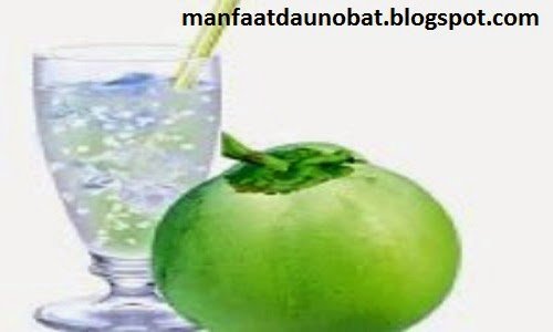 khasiat air putih dan khasiat air kelapa