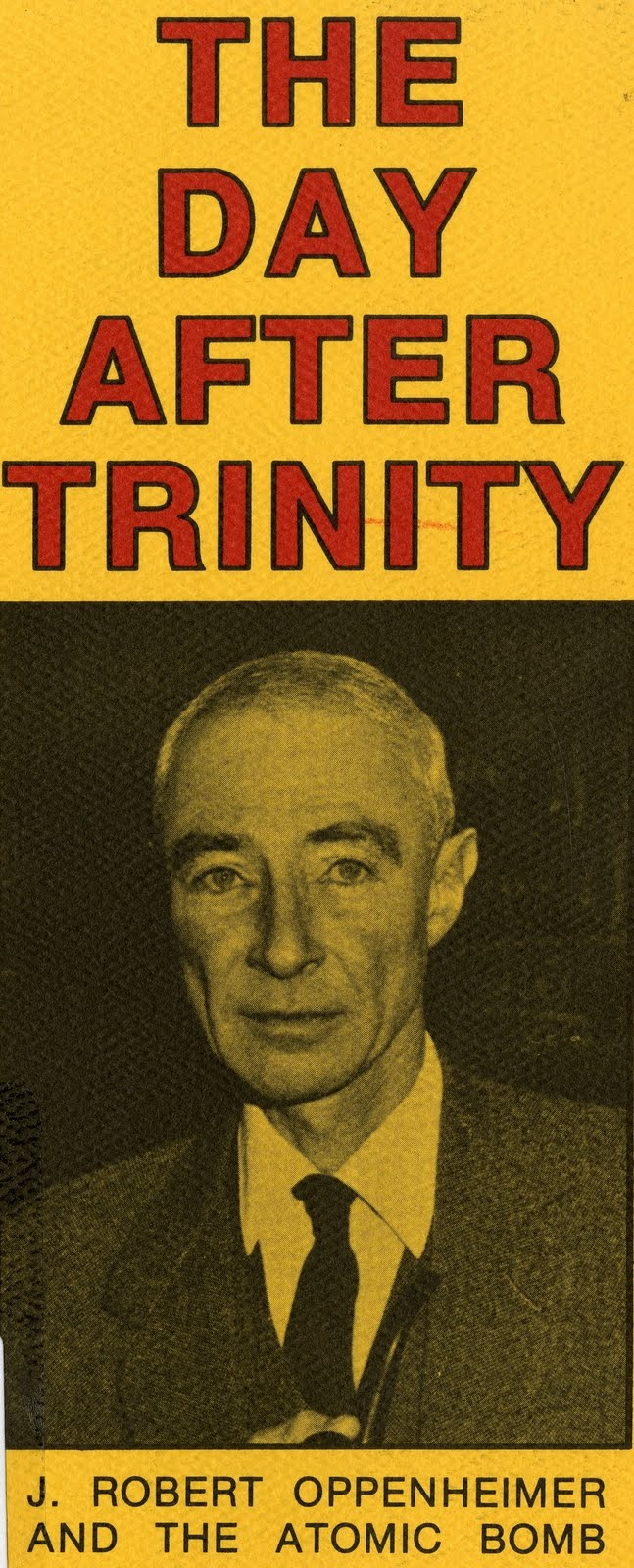 day after trinity The day after trinity (akathe day after trinity: j robert oppenheimer and the atomic bomb) is a 1980 documentary film directed and produced by jon h else in association with kteh public.