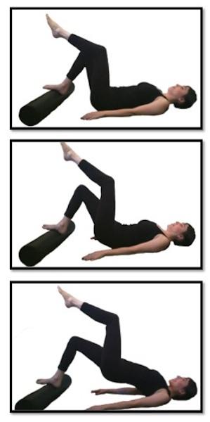 Watch Single Leg Stretch Pilates Mat Exercise video