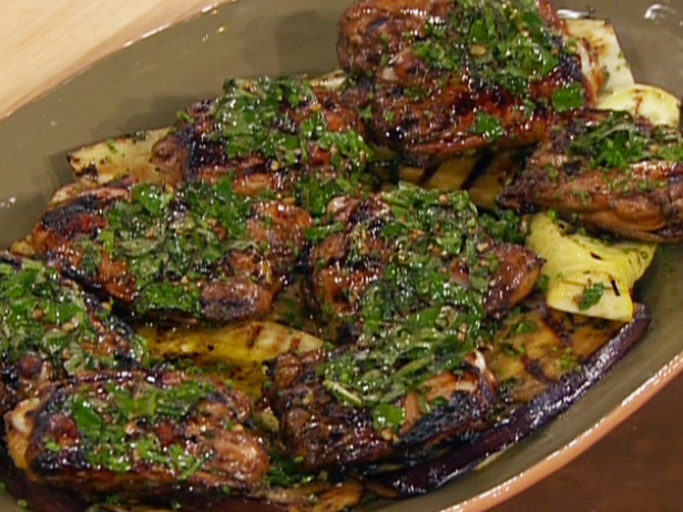 lemon rosemary and balsamic grilled chicken thighs recipe the chicken ...