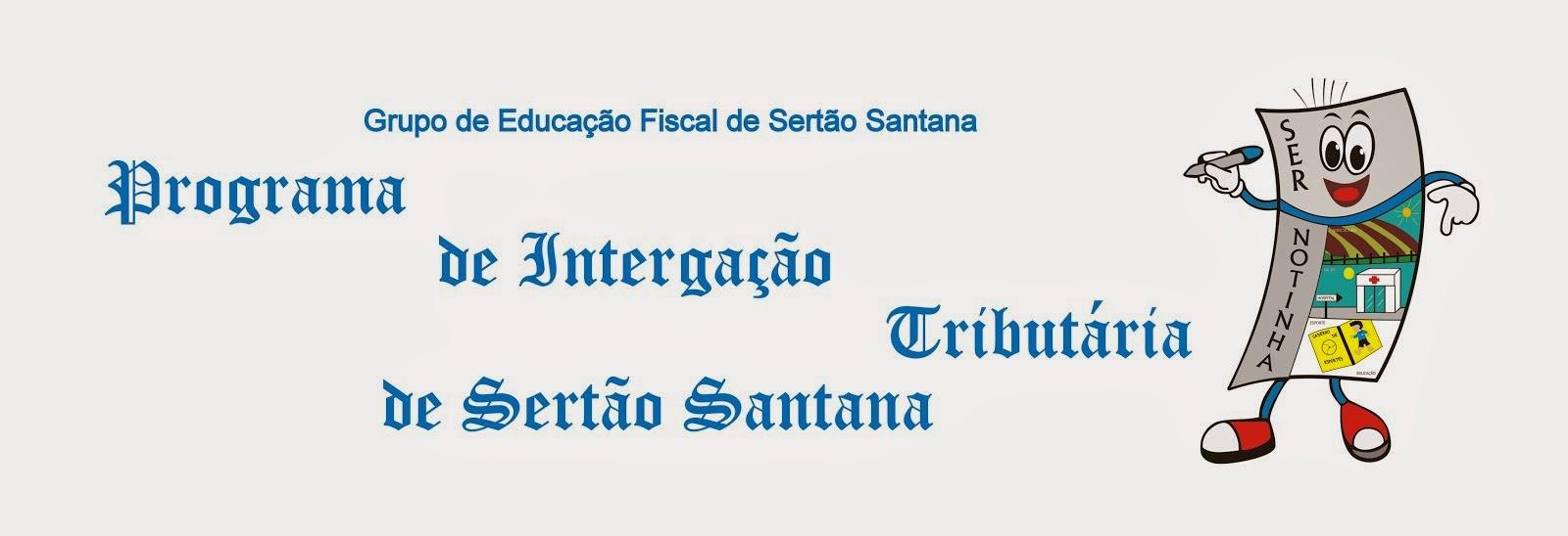 Blog do Programa de Integração Tributária de Sertão Santana