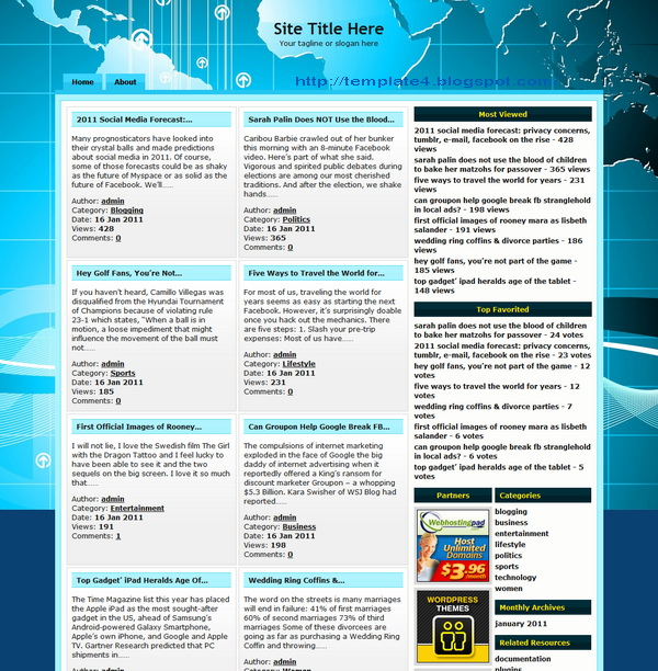 Nedya WordPress Theme