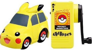 Pikachu eDash Car Tomy