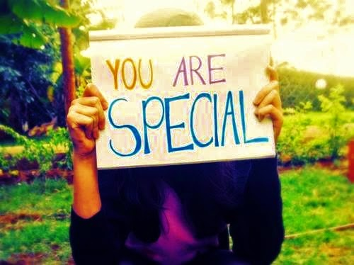 """You Are Special"" - Key to Success"