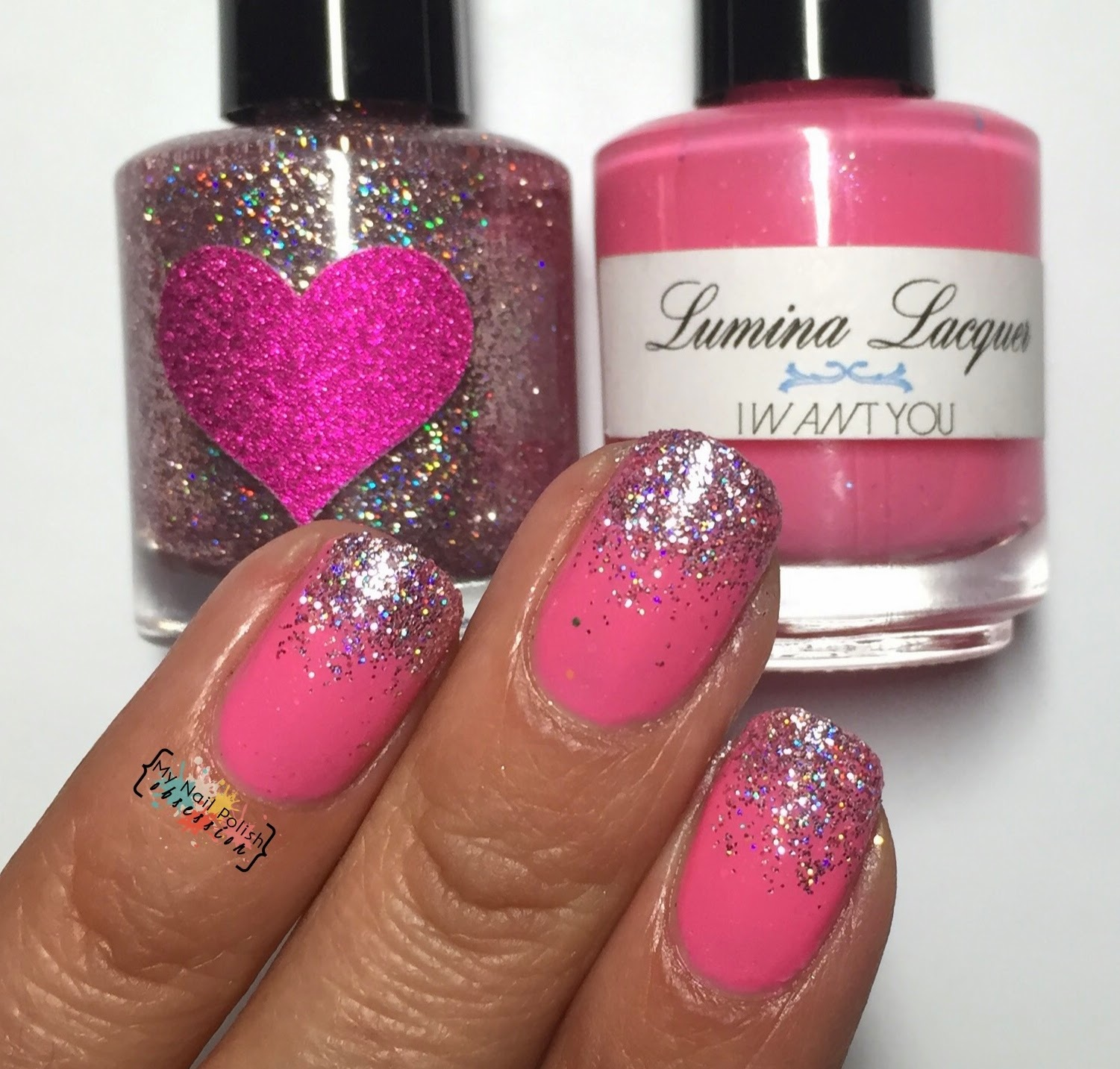 Lumina Lacquer I Want You & Frosting