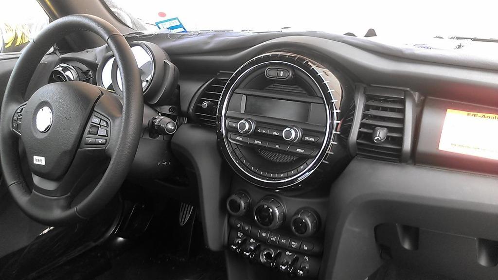 This is the 2014 (2015) MINI Cooper (F56) Interior!