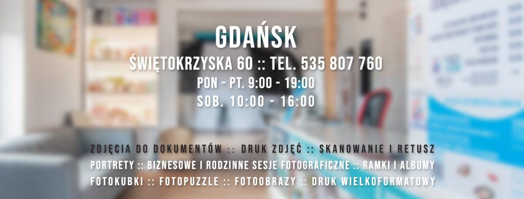 Fotograf Gdańsk Gdynia studio fotograficzne Trójmiasto