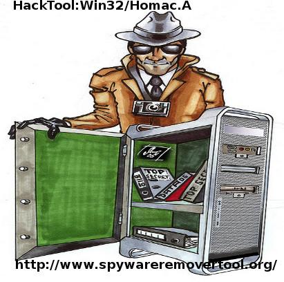 Supprimer les spyware d sinstaller hacktool win32 homac for Supprimer les vers