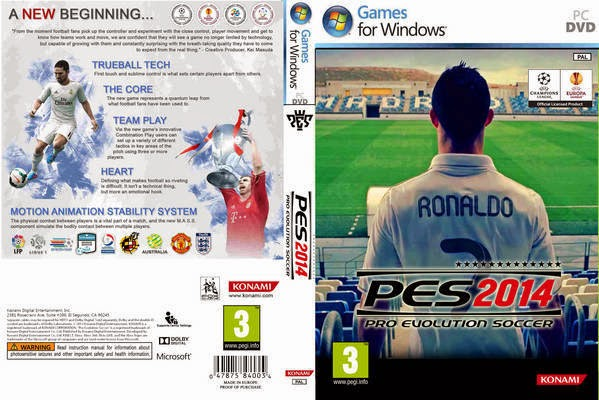 Pro Evolution Soccer 2014 Full Version
