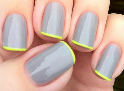 Diy nail art 16 simple nail designs any girl can do at home panda nail design solutioingenieria Images